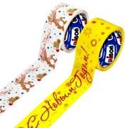 Клейкие ленты с логотипом фото