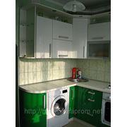 Кухня Зелено-біла фото