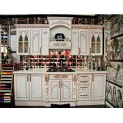 Кухня Белая готика фото