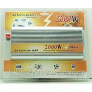 Преобразователь авто (инвертор) 12V-220V 2000W фото
