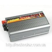 Преобразователь, инвертор 12V/220V (1000W) фото