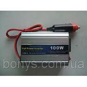 Преобразователь авто (инвертор) 12V-220V 100W фото
