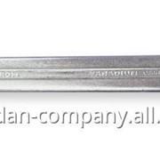 37190 ТМ Berner Ключ с разомкнутым кольцом, 17х19 мм фото