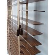 Жалюзи горизонтальные деревянные фото