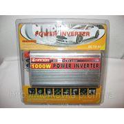 Преобразователь авто инвертор 12V-220V 1000W, купить Преобразователь напряжения инвертор 12-220V 1000W фото