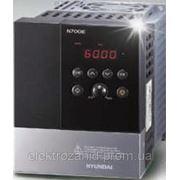 Частотный преобразователь HYUNDAI N700E-007SF 0,75 кВт, номинальный ток 5 А, 200-240В, производство Корея фото