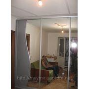 Шафа-купе Фігурні дзеркала фото