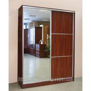 Шкафы купе недорого Чернигов — Фасад зеркало и ДСП фото