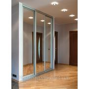 Угловые шкафы купе Чернигов — фасад зеркало