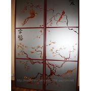 Художественная роспись для шкафов-купе 010