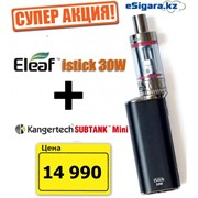 Электронная сигарета Istick 30W + Kanger SubTank mini фото