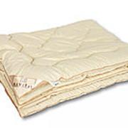 Одеяло из овечьей шерсти Традиция евро теплое фото