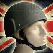 Британская пехотная каска MK.6. Противоударная реплика, для реконструкторов и игр в страйкбол или хардбол. фото