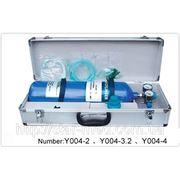 Баллон кислородный в металлическом футляре Y004-2 л фото
