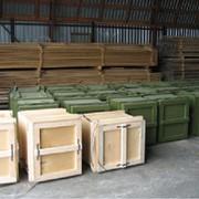 Изготовление деревянной тары для транспортировки фото