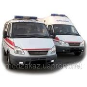 Перевезти больного реанимационным автомобилем скорой помощи фото
