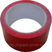 Скотч упаковочный красный 48мм. х 66м. фото