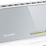 Коммутатор TP-Link 8-портовый 10/100 Мбит/с настольный (TL-SF1008D) фото