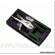 Инструмент HANS. Набор плоскогубцы, зажим, разводной ключ в ложем. 3 пред. (TT-23) фото