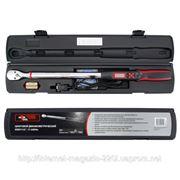 Ключ динамометрический электронный INTERTOOL XT-9021 Квадрат: 1/2, Максимальный крутящий момент: 340, Вид инструмента: Ключ, Дополнительные фото