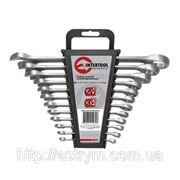 HT-1202 Набор ключей комбинированных 8ед., 8-19мм Cr-V INTERTOOL фото
