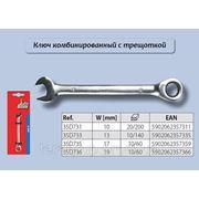 Ключ комбинированный с трещоткой Top Tools 35D731, 35D733, 35D735, 35D736. фото