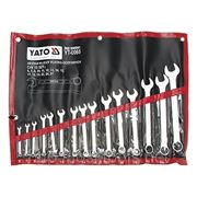 Набор ключей комбинированных 15st 6-27мм YATO-0065 фото