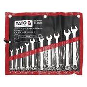 Набор ключей комбинированных 10st 6-19мм YATO-0060 фото