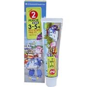 Детская зубная паста LG Robocar Poli серия Perioe Виноград без фтора, от 3 до 5 лет, 75гр фото