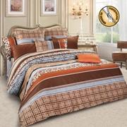 Комплект постельного белья ЕВРО 70 Х 70 - САТИН SM 56 фото
