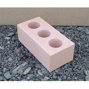 Кирпич силикатный полуторный, Розовый 250*120*88 фото