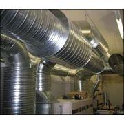 Монтаж и капитальный ремонт промышленных систем вентиляции фото