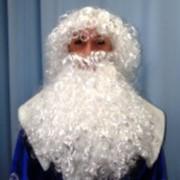 Парик Деда Мороза фото