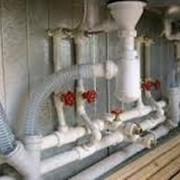 Монтаж внутридомовых водопроводных сетей фото