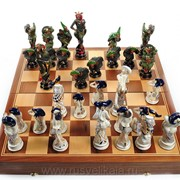 Шахматы Карнавал фото