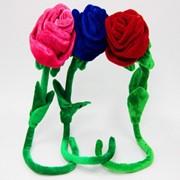 Мягкие игрушки Цветок роза фото