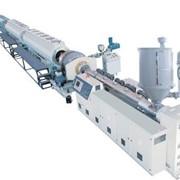 Линия для производства напорных водяных / газовых труб / труб оболочки из PE (ПНД) Ø20~1200мм фото