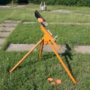 Ручная метательная машинка для занятий стрельбой по тарелочкам на природе Заяц-утка фото
