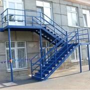 Расчеты и испытания пожарных лестниц. фото