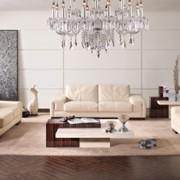 Роскошную мебель Vottari Vicenza: трехместный диван и два кресла из белой кожи категории А фото