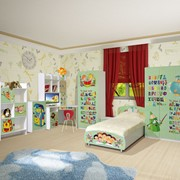 Детская корпусная мебель Мульти Алфавит фото