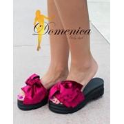 Женские стильные бархатные тапочки,в расцветках фото