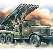 Модель ICM 1/72 BM-13-16 Katiusha Реактивная система залпового огня