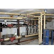 Монтаж и реконструкция систем горячего и холодного водоснабжения фото