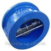 Клапан обратный межфланцевый 2-створ.100 ру16 фото