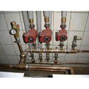 Монтаж водопровода и канализации фото