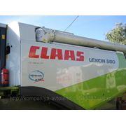 Зерноуборочный комбайн Claas Lexion 580 фото