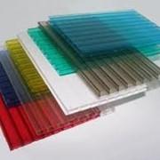Сотовый поликарбонат от 3 до 32 мм бесцветный и цветной фото
