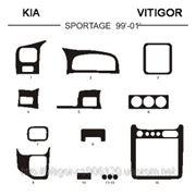 KIA SPORTAGE 99' - 01' Карбон, карбон+, алюминий фото