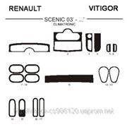 Renault SCENIC 03' - ... CLIMATRONIC Карбон, карбон+, алюминий фото